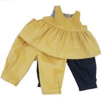 Cadeau bébé fille top+knickers+collants