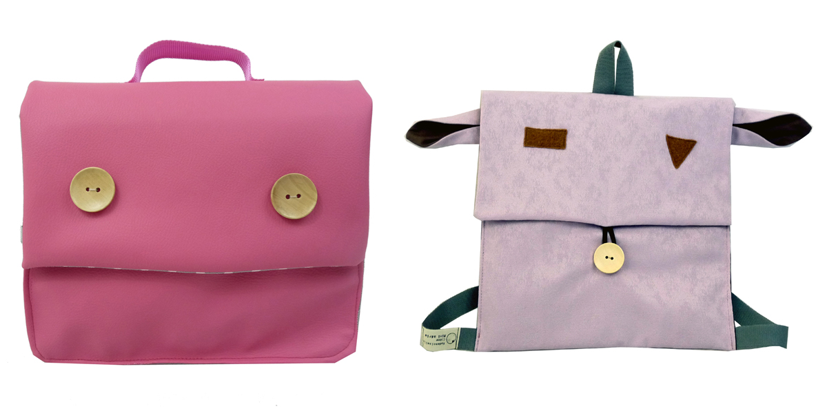 cartable sac rose