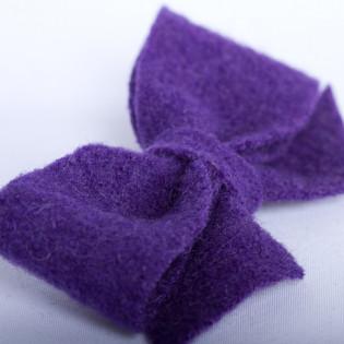 Barrette laine, le coup de foudre de violette