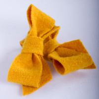 Barrette laine bouillie coup de foudre soleil