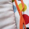Tour de lit 50cm x 180cm, pois multicolores