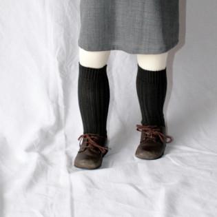 Chaussettes chaudes grises