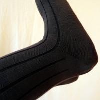 Chaussettes bébé hautes, gris
