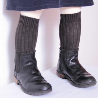 Chaussettes bébé épaisses -Gris- Tarif dégressif