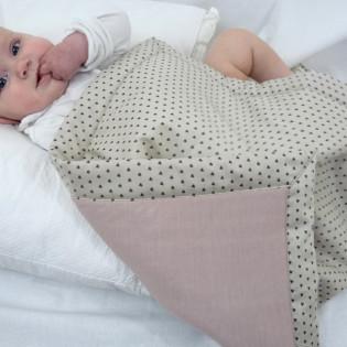 Couverture bébé cadeau naissance